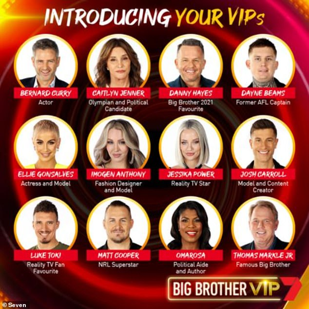 Big Brother VIP line-up CONFIRMED: Channel Seven finally ...